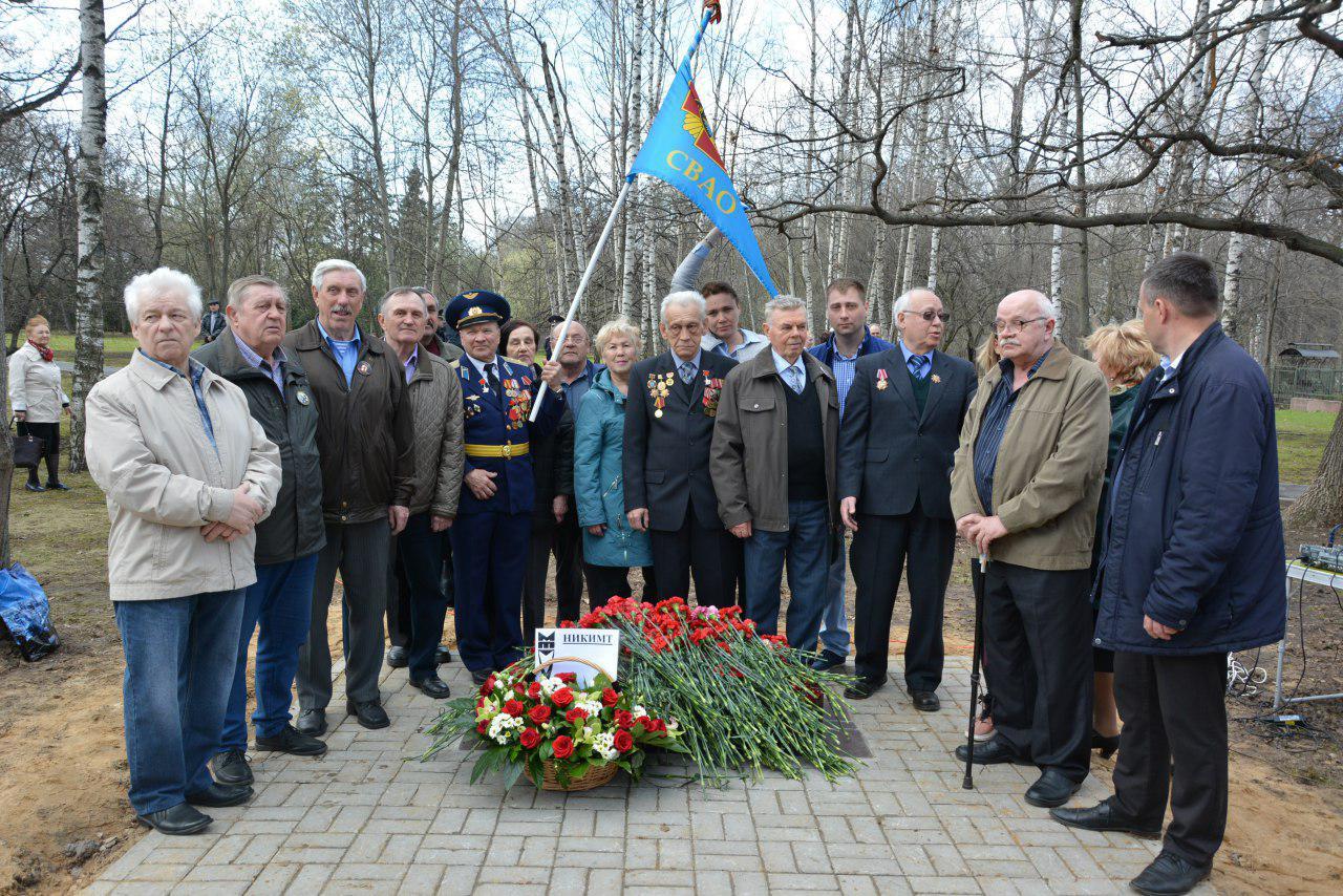 Жители Лианозова почтили маршем память погибших ликвидаторов аварии на ЧАЭС