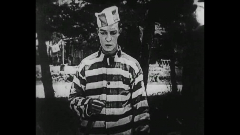 Заключённый № 13. Бастер Китон. (субтитры).