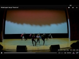 Репитиция танца Счастье. Подготовка к конкурсу в Самаре.