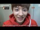 [РУСС.САБ] EXOs First Box Диск 3 (отрывок) Чанёль снимает мемберов