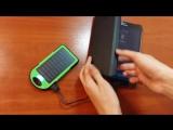 Ультра Новинки Обзор PowerBank Solar Changer (На солнечной батарее) 5000+2600 mAh