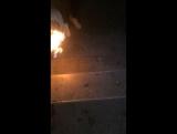 Полина «горящая нога»