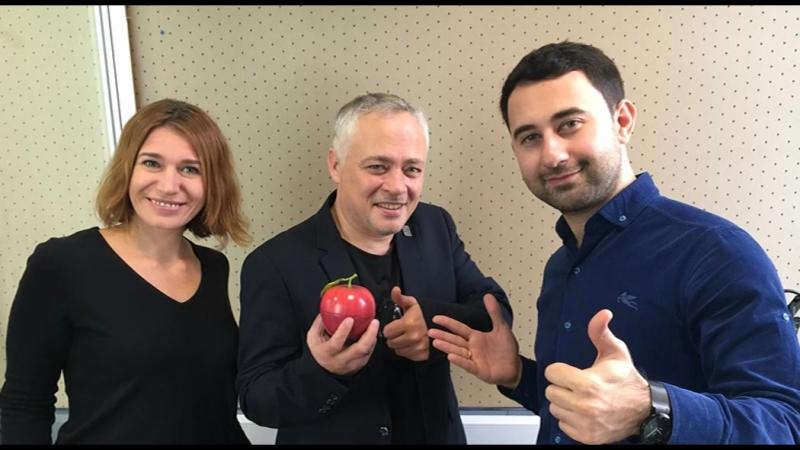 Айдамир Эльдаров в шоу Яблочное Утро.