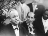 Редкая запись исполнения песни вживую. Николай Рыбников Улица родная, 1956г