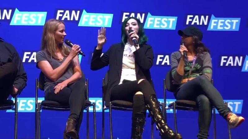 Fan Fest News Emma says somebody needs to give Polaris a helmet pronto