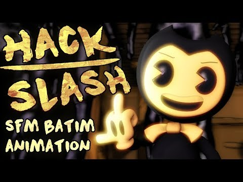 SFM АНИМАЦИЯ BENDY Ghostemane x Getter - HACK/SLASH (Animated Music Video) AMV RAP SONG Oxygen1um