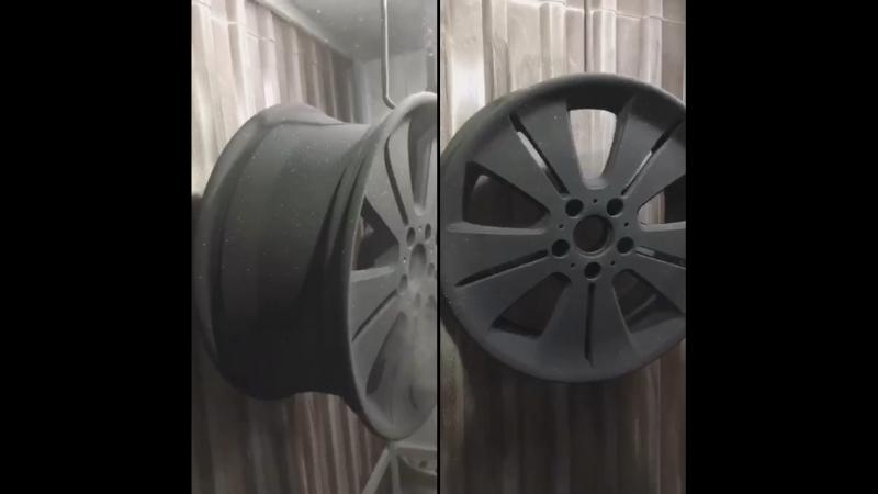 Порошковая покраска дисков в Анапе