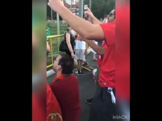 Русские девушки кружат голову португальцам