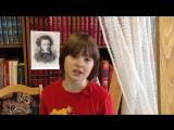 Мария Демченко читает отрывок из романа А.С.Пушкина