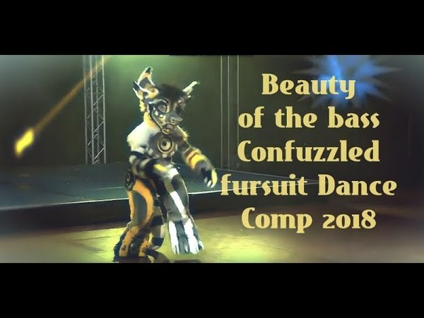 Confuzzled 2018 - Beauty of the bass ( New fursuit )