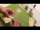 Процесс обработки слепков