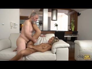 Jenny Smart having sex with an old man with beard