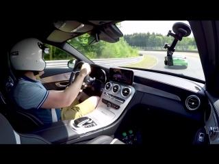 Тест обновленного Mercedes-AMG C 63 S_ быстрее, чем BMW M3