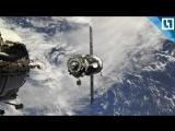 Стыковка корабля «Прогресс МС-08» с МКС