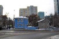 15.12.2017 - Прогулка по зимней улице Полевая в Самаре