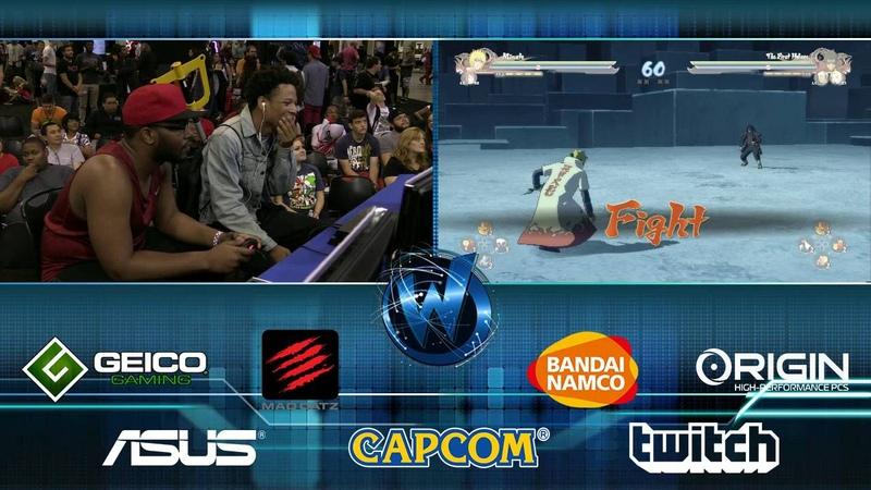Naruto Shippuden: Ultimate Ninja Storm 4 - Mina Hokad VS. Afro Senju   Top 8   WW Chicago 2016
