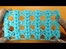 РЕДКИЙ Ажурный узор для шали узор вязания крючком 105