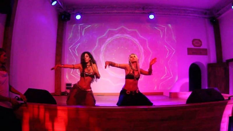 Alexandra Skripkina Lena Gukina feat. Kayatma - Tribal Festival 07.07.2018