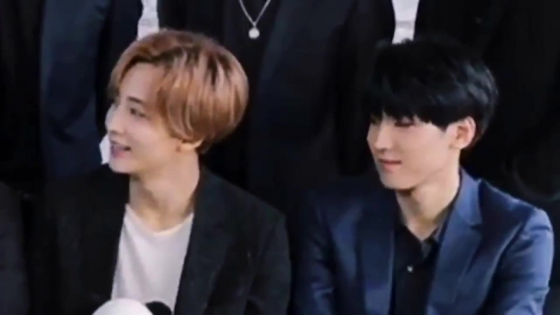Best part about soonyoung being his loud self is always seeing how everyone reacts to it