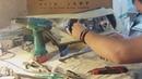 Постройка макета фар Драгон для Шевролет Круз