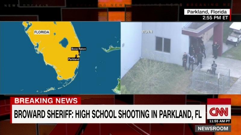 Florida school shooting suspect in custody, police say