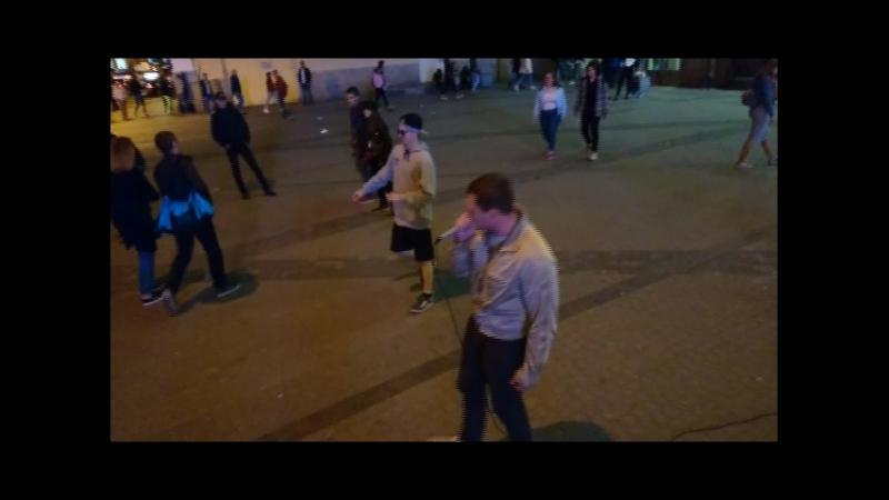 Санкт-Петербург,пл.Восстания FreeStyle (Тёмада,Шел,Мэджик,LeksUp)