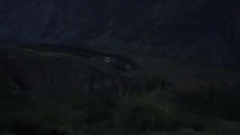 Спуск с перевала Кату-Ярык