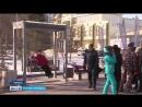 Качели в Тюмени на Цветном бульваре