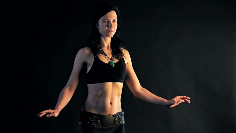 Волны телом часть 2 Анна Акинцева Tribal Fusion