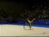 Алина Кабаева - Обруч (Сидней, 2000)