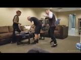 Corey Taylor dancing