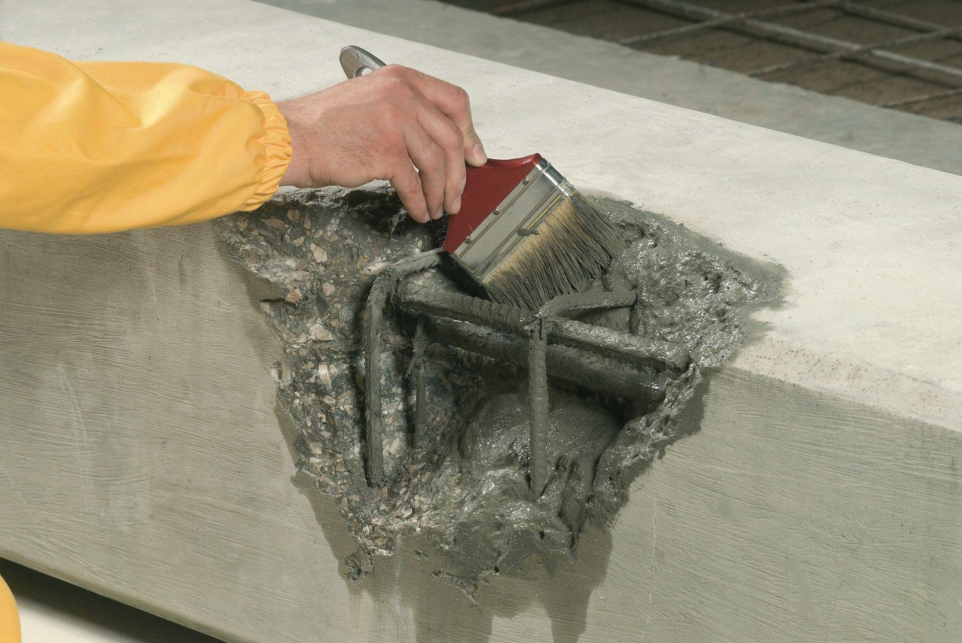 как восстановить бетон