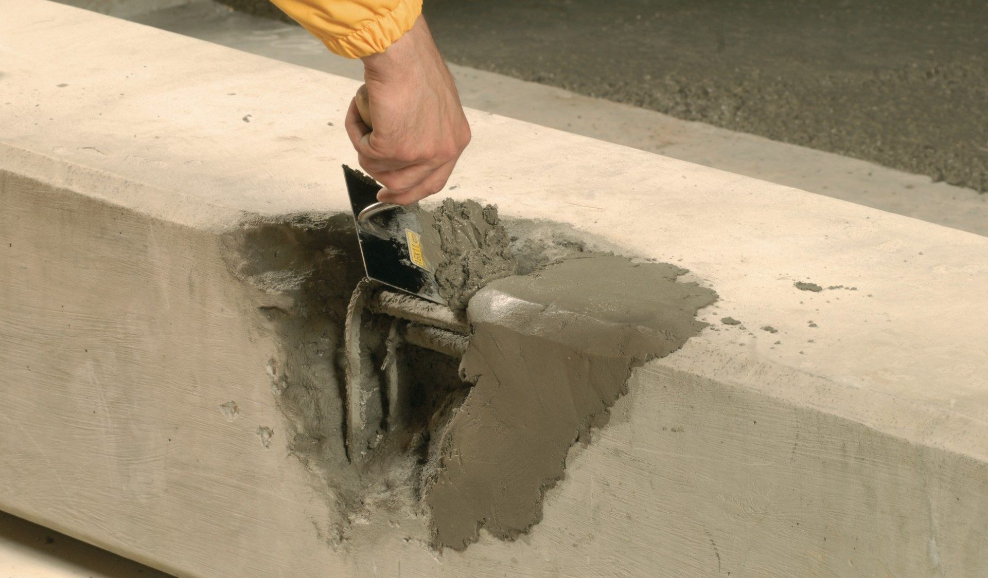 Реставрация бетона