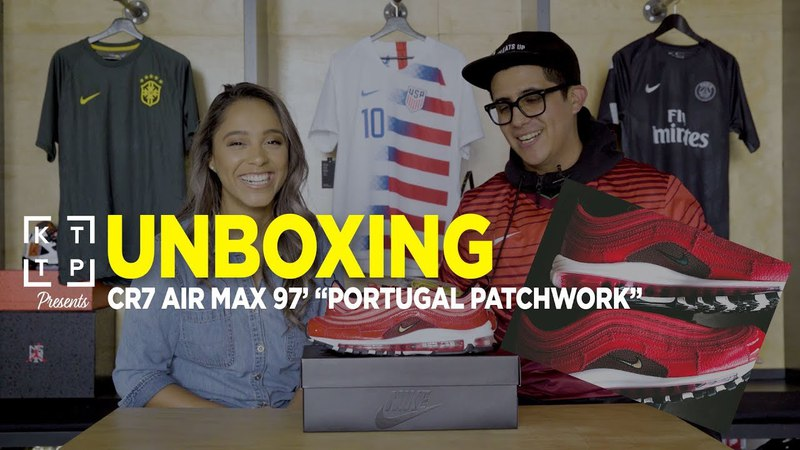 KTTP PRESENTS: UNBOXING | Nike Airmax97 CR7 Portugal Patchwork