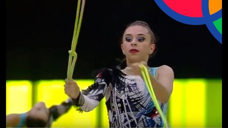 Mexico I Oro para México en Gimnasia Rítmica   Juegos Centroamericanos Barranquilla 2018