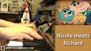 The Amazing World Of Gumball - Nicole meets Richard (The Choices) (Piano Cover SHEET MUSIC)