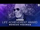 Вручение почетной награды за вклад в кинематограф Морган Фриман