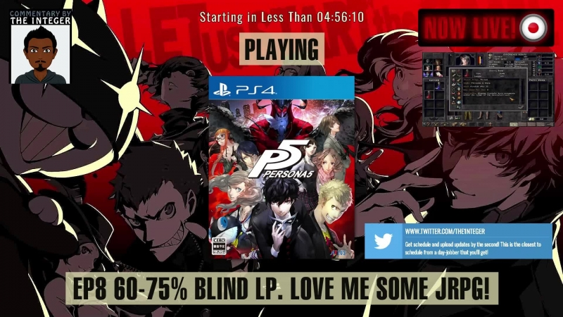 JRPG sexiness in Japan with Persona 5 60% Blind No Tips Spoilers or Backseating thanks Ep 8 English Speaking Only Stre смотреть онлайн без регистрации