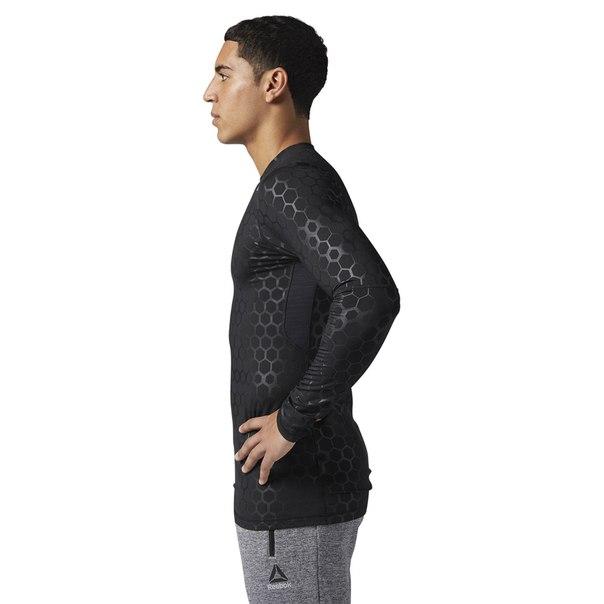 Компрессионная футболка с длинным рукавом HEXAWARM