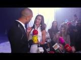 Интервью с съемок клипа WIFI