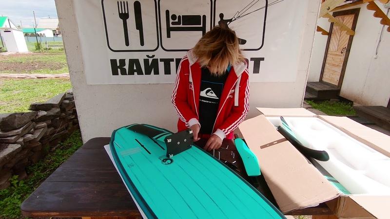 тест гидрофойл ananas, foil Ananas Surf 2018