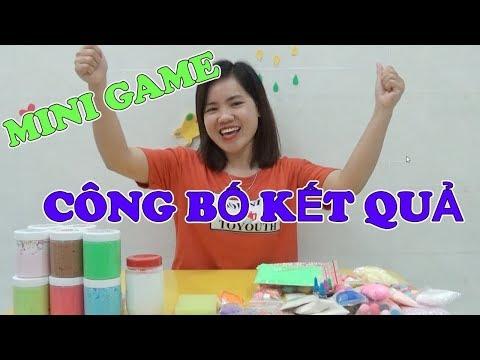 CÔNG BỐ KẾT QUẢ MINI GAME LẦN 2