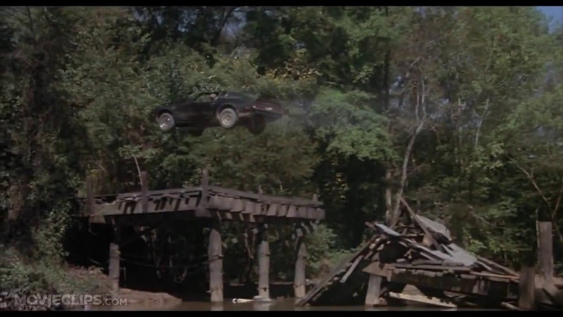 Smokey and the Bandit 6 10 Movie CLIP Jumping Mulberry Bridge 1977 HD