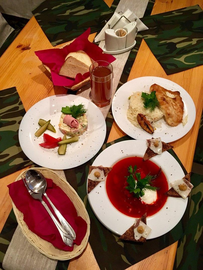 """Комплексный обед в кафе """"Зенитка"""""""