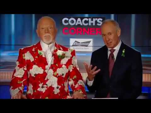 Don Cherry blames Nikita Zaitsev after Leafs lost game 2 vs Bruins (2018)
