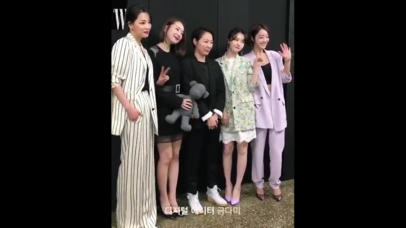 W_livingkids fancam of GIRLS DAY BANG MINAH inside the Event with other celebrity!