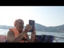 Веду прямую трансляцию с катера в Судаке