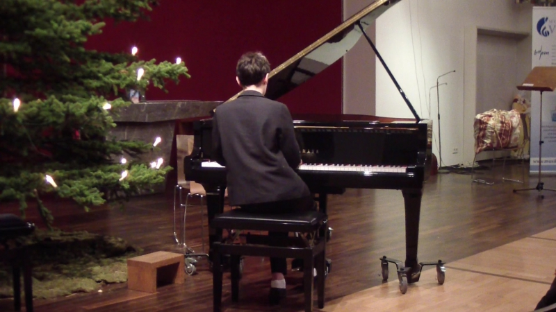 Weihnachtskonzert 16.12.2017 J.Haydn Sonate in h-moll Op.14 Nr.6