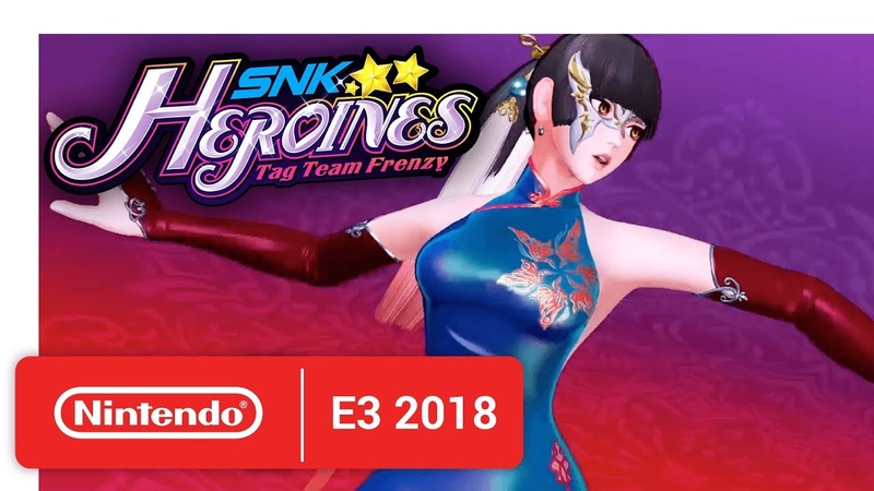 SNK HEROINES Tag Team Frenzy - Knockout Duo! Luong Mian! - Nintendo E3 2018