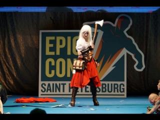 Epic Con 2018 - MIA_Kirin - Woolfe - The Red Hood Diaries